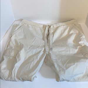 Polo cargo drawstring pants size large